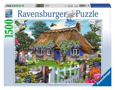 Puzzel Cottage in England (1500)