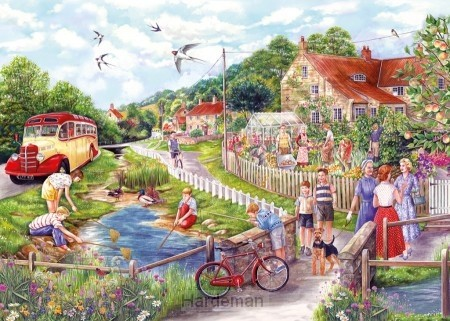 Puzzel Summer by the Stream (250 XL)