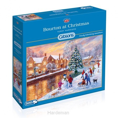 Puzzel Bourton at Christmas (500)