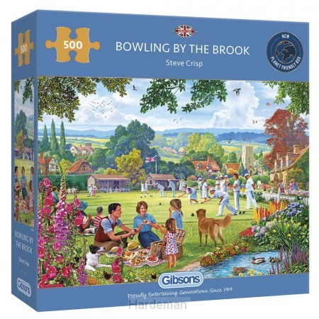 Puzzel Bowling by the Brook (500)