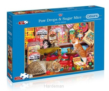 Puzzel Paw Drops & Sugar Mice (500XL)