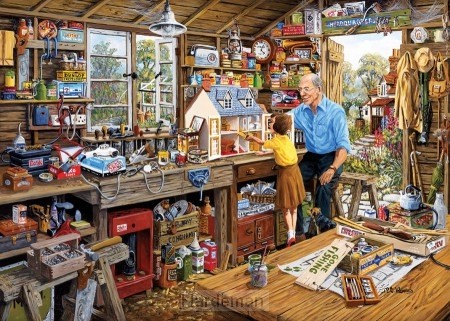 Puzzel Grandad's Workshop (500 XL)