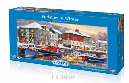 Puzzel Padstow in Winter (636)