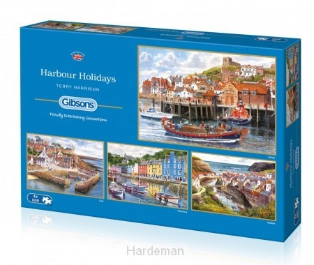 Puzzel Harbour holidays (4 x 500)