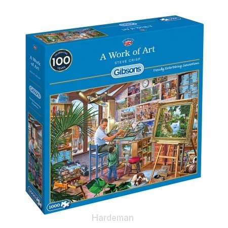 Puzzel A work of art (1000)