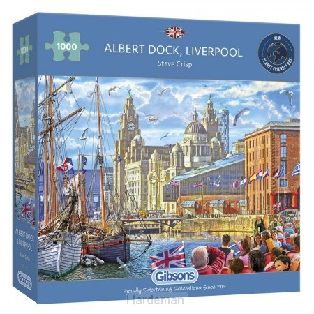 Puzzel Albert Dock, Liverpool (1000)