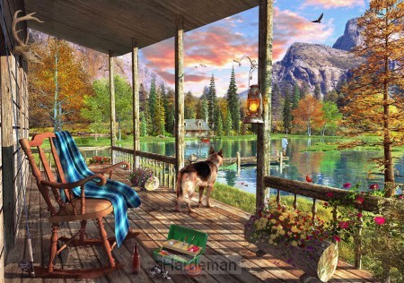 Puzzel Mountain Cabin (40)