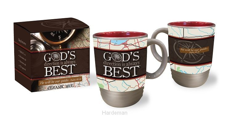 Mug God's direction