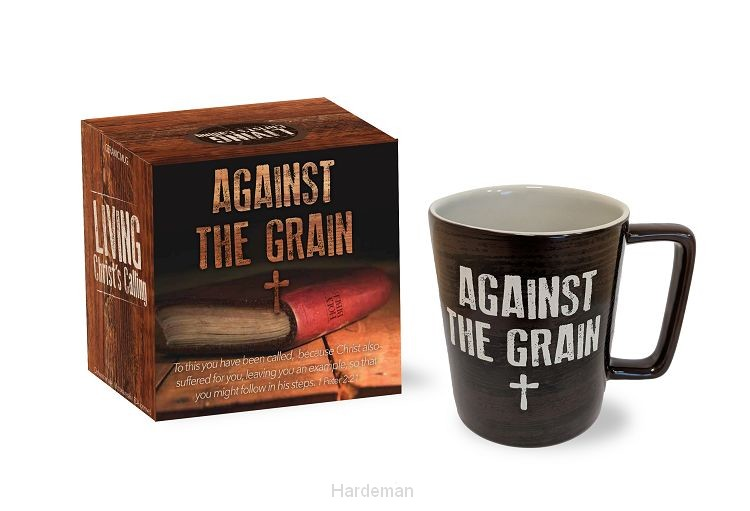 Mug against the grain