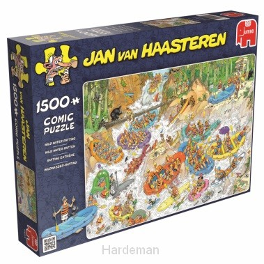 Puzzel Wild water rafting (1500)