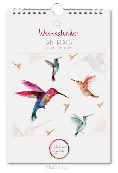 M. Dujardin, Animals, weekkalender 2021