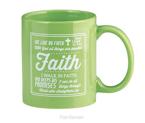Mug faith love new design