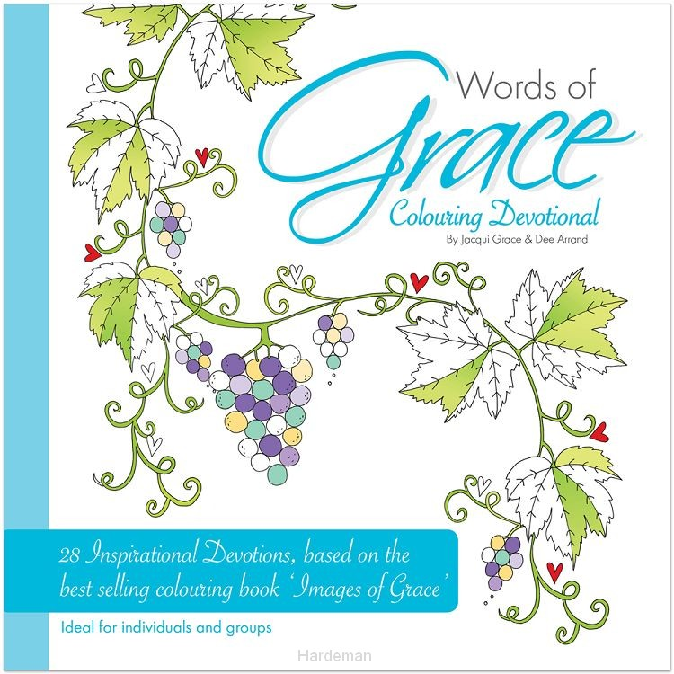 Kleurboek Words of Grace