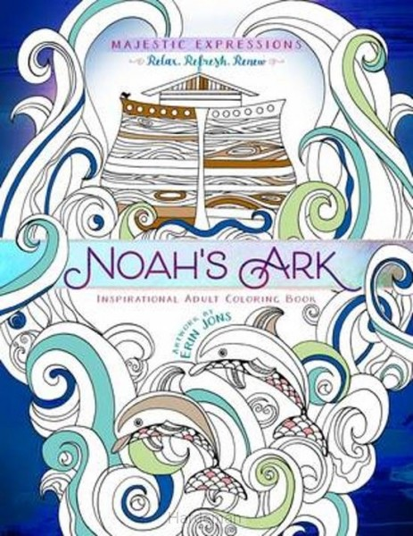 Coloring book Noah's ark