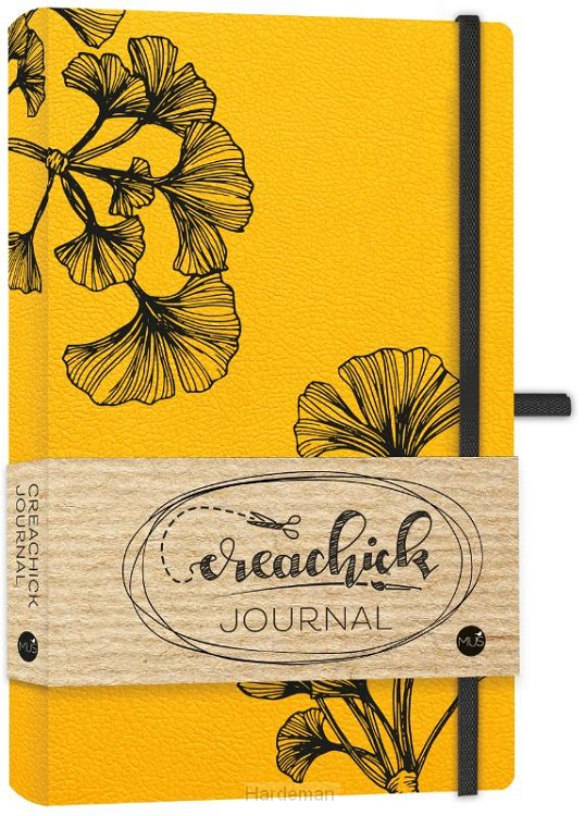 Creachick journal okergeel