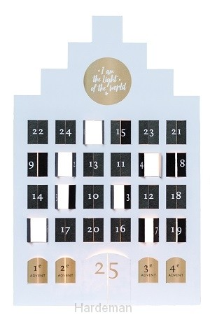 Adventskalender groot light of the world