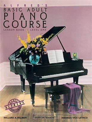 Alfred's basic adult piano course les 1